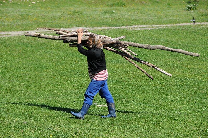 Těžký život rumunského venkova...