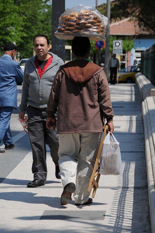 Pouliční prodavač