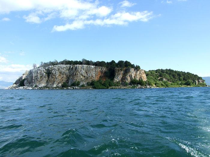 Golem Grad island,  Ostrovo Golem Grad,  Ostrvo Sveti Petar