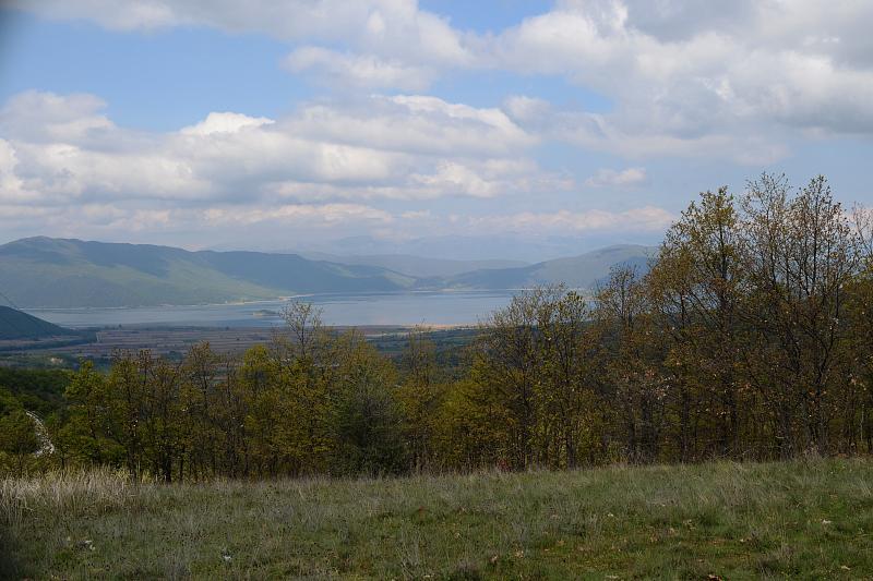 sedlo nad Malým Prespanským jezerem