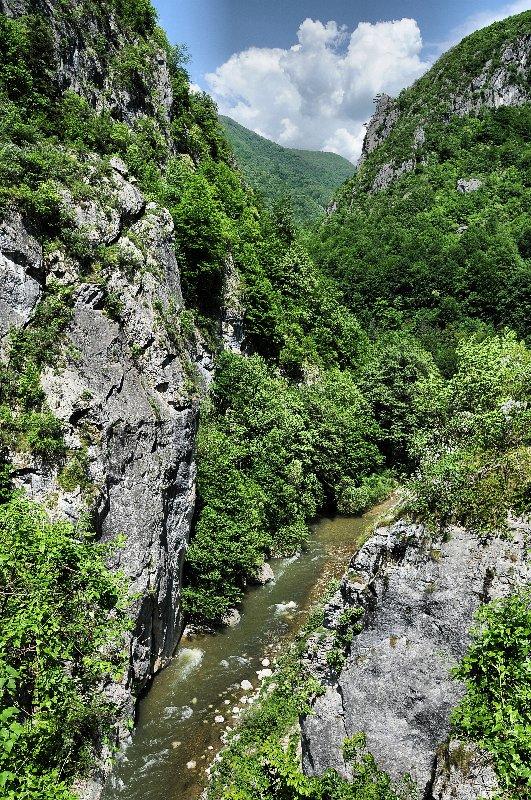 Kaňon Valea Cernei