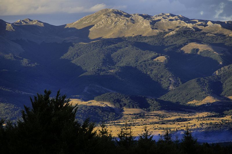 Pohoří Crvaj planina.