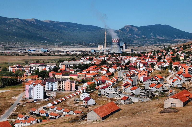 Městečko Gacko u hranice s Černou Horou.