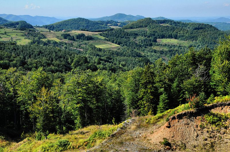 Pohoří Borja planina.