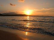 západ slunce nad Strandžou