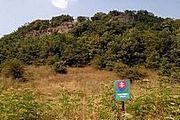 Lokalita krátkonožek v NPR Kováčovské kopce.