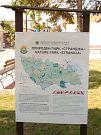 Informační tabule k NP Strandža